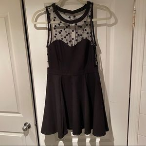 Urban Outfitters black semi formal dress